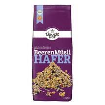 Hafermüsli Beere glutenfrei