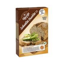 Schnelles dunkles Brot glutenfrei