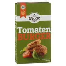 Tomatenburger mit Basilikum glutenfrei