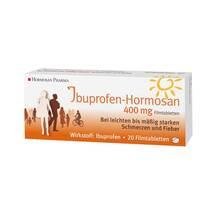 Produktbild Ibuprofen-Hormosan 400 mg Filmtabletten