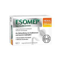 Esomep Hexal bei Sodbrennen 20 mg magensaftresistent Hkp.
