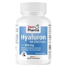 Produktbild Hyaluron Forte HA 200 Kapseln