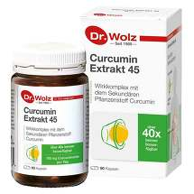 Produktbild Curcumin Extrakt 45 Dr. Wolz Kapseln