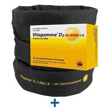 Produktbild Vitagamma D3 2.000 I.E. Vitamin D3 NEM Tabletten
