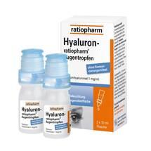 Produktbild Hyaluron Ratiopharm Augentropfen