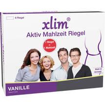 Produktbild Xlim Aktiv Mahlzeit Vanille Riegel