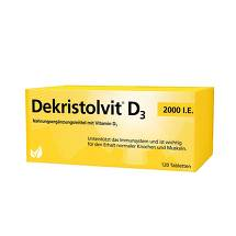 Produktbild Dekristolvit D3 2.000 I.E. Tabletten