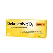 Produktbild Dekristolvit D3 4.000 I.E. Tabletten