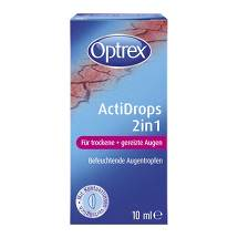 Produktbild Optrex Actidrops 2in1 für trockene + gereizte Augen