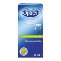 Produktbild Optrex Actidrops 2in1 für müde + überanstrengte Augen