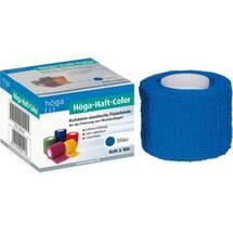 Produktbild Höga Haft Color Fixierbinde 4 cm x 4 m blau