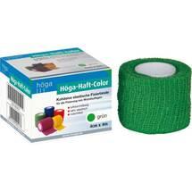 Produktbild Höga Haft Color Fixierbinde 4 cm x 4 m grün