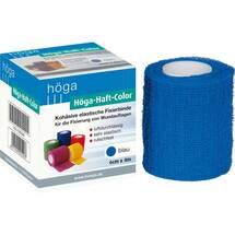 Produktbild Höga Haft Color Fixierbinde 6 cm x 4 m blau