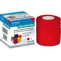 Produktbild Höga Haft Color Fixierbinde 6 cm x 4 m rot