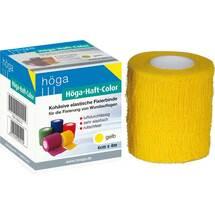 Produktbild Höga Haft Color Fixierbinde 6 cm x 4 m gelb