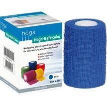 Produktbild Höga Haft Color Fixierbinde 8 cm x 4 m blau