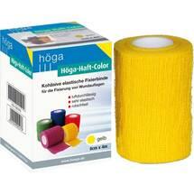 Produktbild Höga Haft Color Fixierbinde 8 cm x 4 m gelb