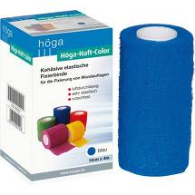 Produktbild Höga Haft Color Fixierbinde 10 cm x 4 m blau