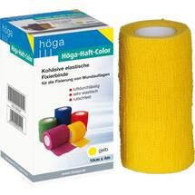 Produktbild Höga Haft Color Fixierbinde 10 cm x 4 m gelb