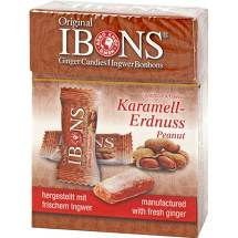Produktbild Ibons Karamell-Erdnuss Bonbons