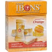 Ibons Orange Ingwerkaubonbons