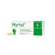 Produktbild Myrtol magensaftresistente Weichkapseln