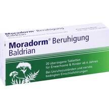 Produktbild Moradorm Beruhigung Baldrian überzogene Tabletten
