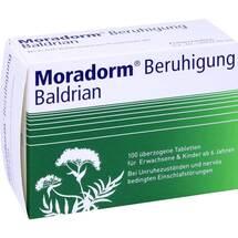 Moradorm Beruhigung Baldrian überzogene Tabletten