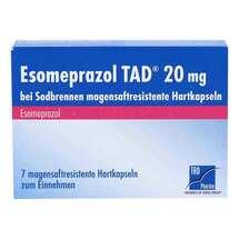 Produktbild Esomeprazol TAD 20 mg bei Sodbrennen magensaftresistent Hartkapseln
