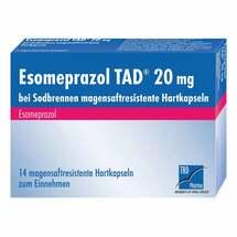 Esomeprazol TAD 20 mg bei Sodbrennen magensaftresistent Hartkapseln
