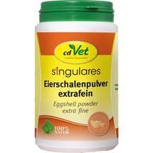 Singulares Eierschalenpulver extrafein vet. (für Tiere)