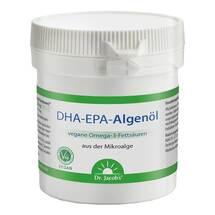 Produktbild DHA-EPA-Algenöl Dr. Jacob`s Kapseln