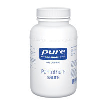 Produktbild Pure Encapsulations Pantothensäure Kapseln