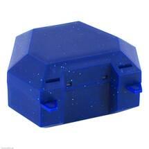 Produktbild Zahnspangenbox mit Kordel blau mit Glitzer