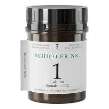 Produktbild Schüssler Nr.1 Calcium fluoratum D12 Tabletten