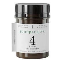 Produktbild Schüssler Nr.4 Kalium chloratum D 6 Tabletten