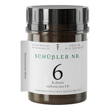 Produktbild Schüssler Nr.6 Kalium sulfuricum D 6 Tabletten