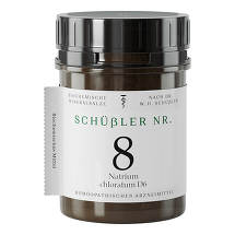Produktbild Schüssler Nr.8 Natrium chloratum D 6 Tabletten