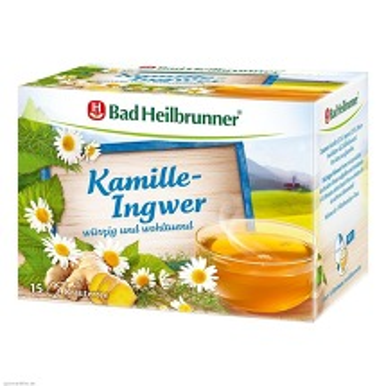 Produktbild Bad Heilbrunner Tee Kamille-Ingwer Filterbeutel