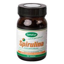 Produktbild Spirulina Mikroalgen 400 mg Sanatur Tabletten