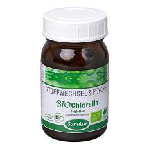 Produktbild Chlorella Mikroalgen 400 mg Sanatur Tabletten