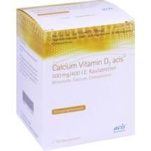 Calcium Vitamin D3 acis 500 mg / 400 I.E. Kautabletten