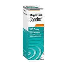Produktbild Magnesium Sandoz 121,5 mg Brausetabletten