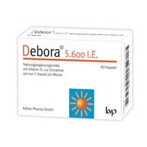 Produktbild Debora 5.600 I.E. Kapseln