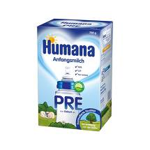 Produktbild Humana Anfangsmilch Pre Lcp + Gos Pulver