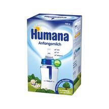 Produktbild Humana Anfangsmilch 1 Lcp + Gos Pulver