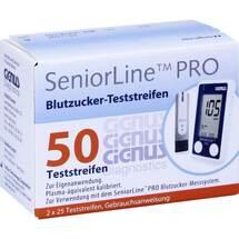 Produktbild Seniorline Pro Blutzucker-Teststreifen Cignus