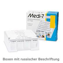 Medi 7 Medikamentendos.für 7 Tage weiß russische Version