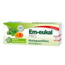 Em-eukal Pro Halspastillen Eukalyptus zuckerfrei