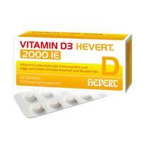 Produktbild Vitamin D3 Hevert 2.000 I.E. Tabletten